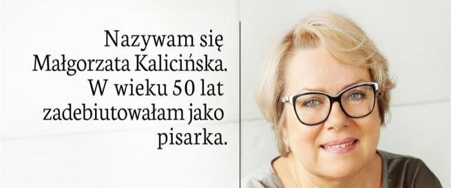 """Małgorzata Kalicińska w kampanii """"Aktywni 50+"""""""