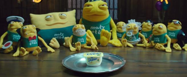 10 lat Małego Głoda w reklamach Danio (case study)