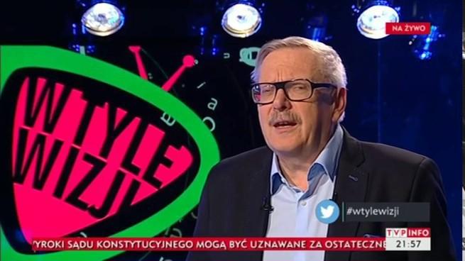 """""""W tyle wizji"""" hitem TVP Info. Program zyskał 208 tys. widzów"""