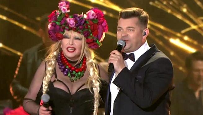 Maryla Rodowicz i Zenon Martyniuk, fot. TVP