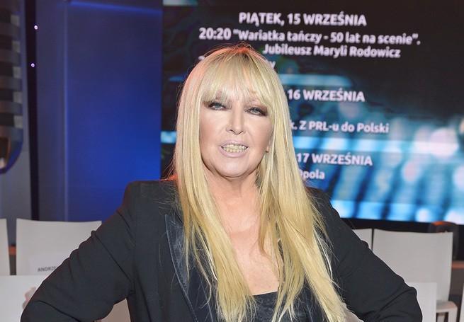 Maryla Rodowicz wystąpi na festiwalu w Opolu.