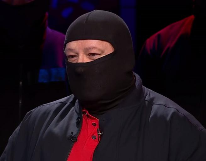 """Jarosław """"Masa"""" Sokołowski, fot Polsat News"""