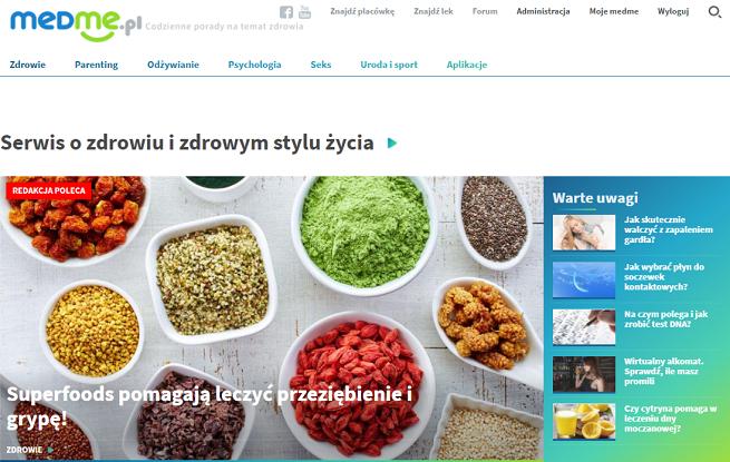 Medme.pl - rośnie mocny zawodnik w sektorze healthcare