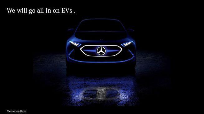 Do 2022 roku Mercedes tylko z autami elektrycznymi