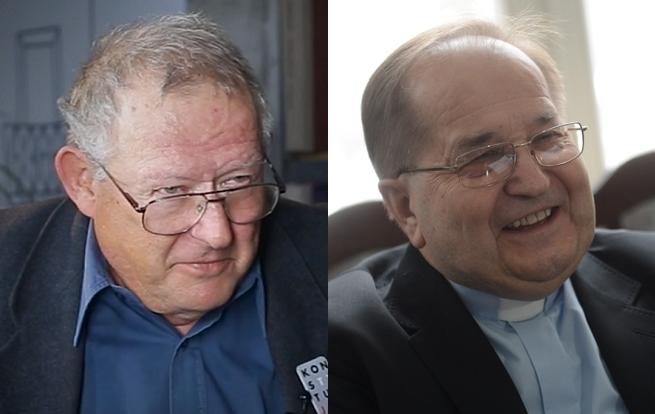 Adam Michnik i o. Tadeusz Rydzyk