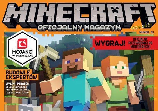 """""""Minecraft: Oficjalny Magazyn"""" i """"DC SuperHero Girls"""" – dwa nowe magazyny od Egmont Polska"""