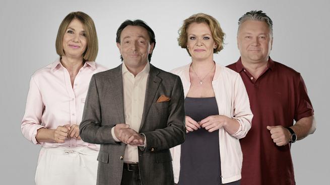 Daria Widawska, Grażyna Wolszczak, Michel Moran i Robert Sowa we wspólnej akcji Prymatu i TVN (wideo)