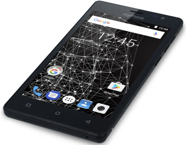 Smartfon Q-Smart Black Edition marki myPhone w Biedronce za 299 zł