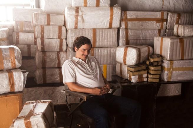 Pablo Escobar, fot. Netflix