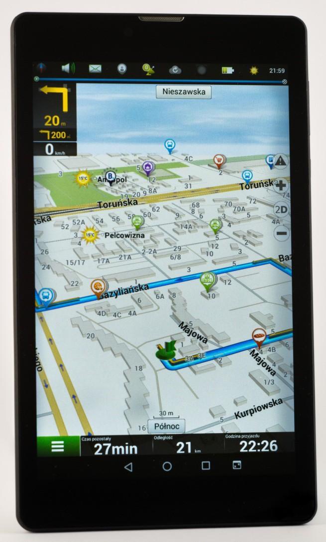 T500 3G - nowy tablet Navitel z funkcją nawigacji i telefonu za 299 zł