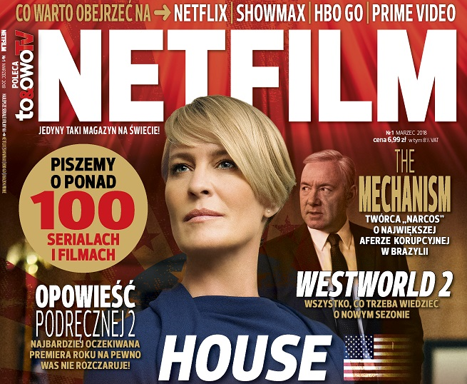 """Wydawnictwo Bauer nowym pismem """"Netfilm"""" testuje rynek użytkowników serwisów VoD"""