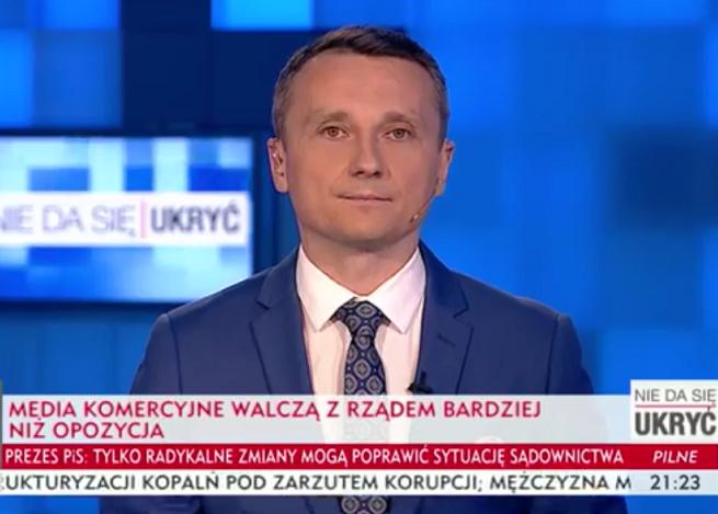 """446 tys. widzów śledzi audycję Ewy Bugały i Piotra Pawelca """"Nie da się ukryć"""". TVP Info wygrywa z TVN24 i Polsat News"""