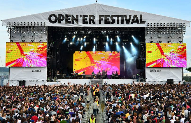 Antyradio zamiast Trójki patronem medialnym Open'er Festival