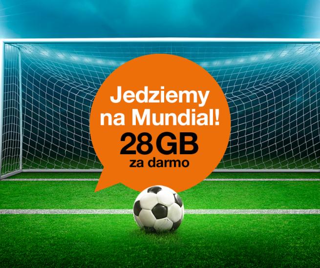 Orange daje tyle GB ile Polacy zdobyli goli w drodze po awans na MŚ w Rosji