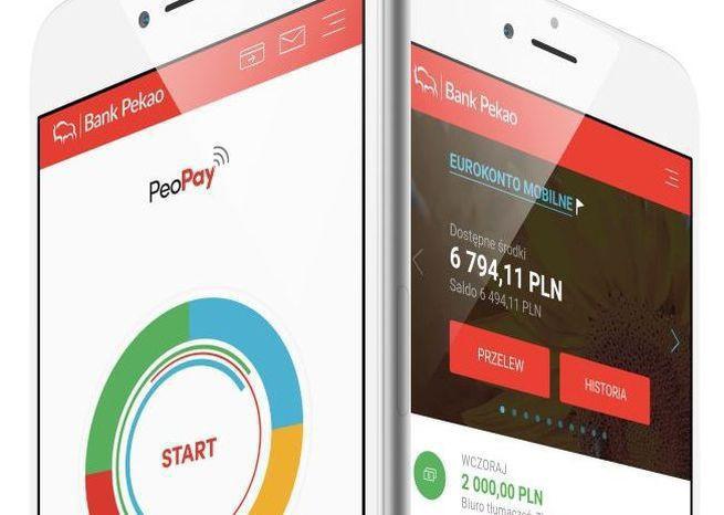Aplikacja PeoPay od Banku Pekao z obsługą biometrii do prowadzenia konta i płatności