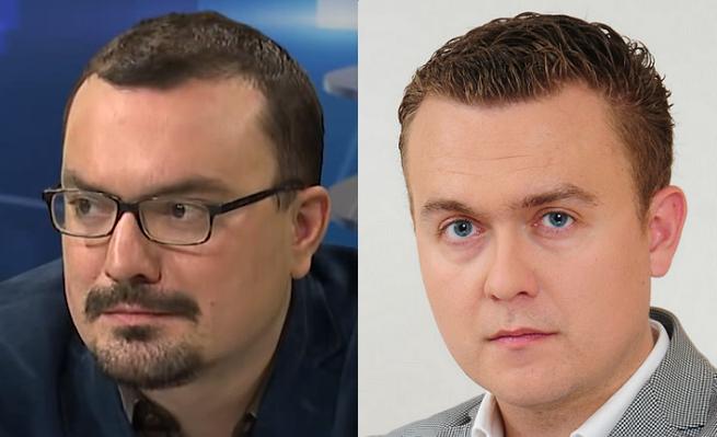 Od lewej: Jan Piński i Piotr Nisztor