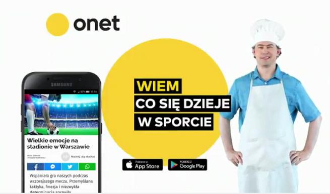 Katarzyna Janowska, Jarosław Kuźniar, Michał Pol i Marcin Cejrowski reklamują aplikację mobilną Onetu (wideo)