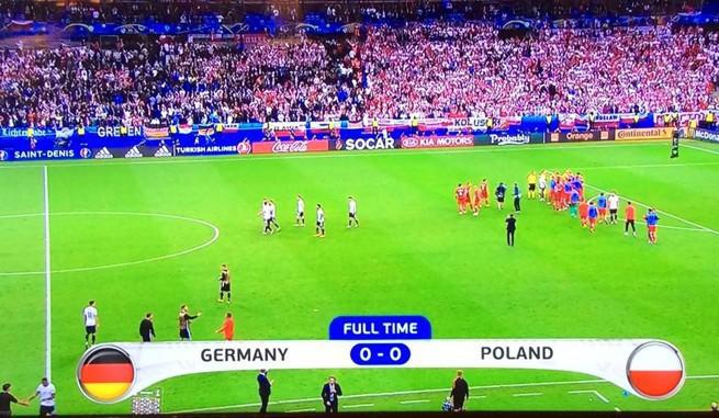 14,3 mln widzów meczu Polska-Niemcy. TVP1 wygrała z Polsatem
