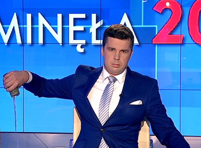 Michał Rachoń, fot. TVP Info