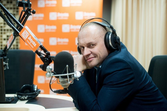 Rafał Porzeziński, szef PR I, foto: Wojciech Kusiński/Polskie Radio