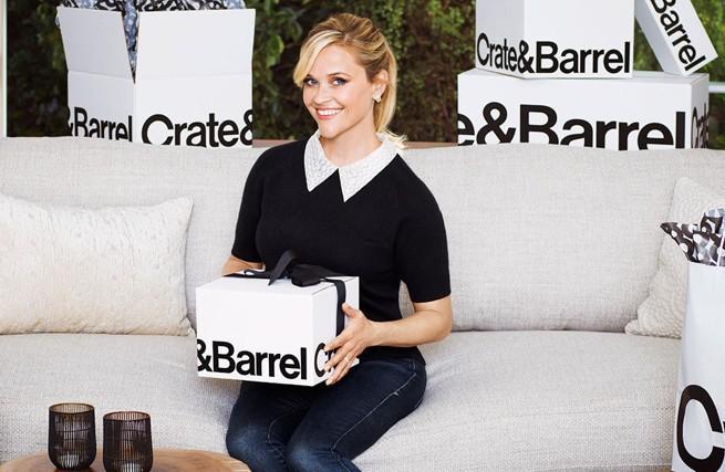 Reese Witherspoon jako doskonała gospodyni w reklamie Crate&Barrel (wideo)