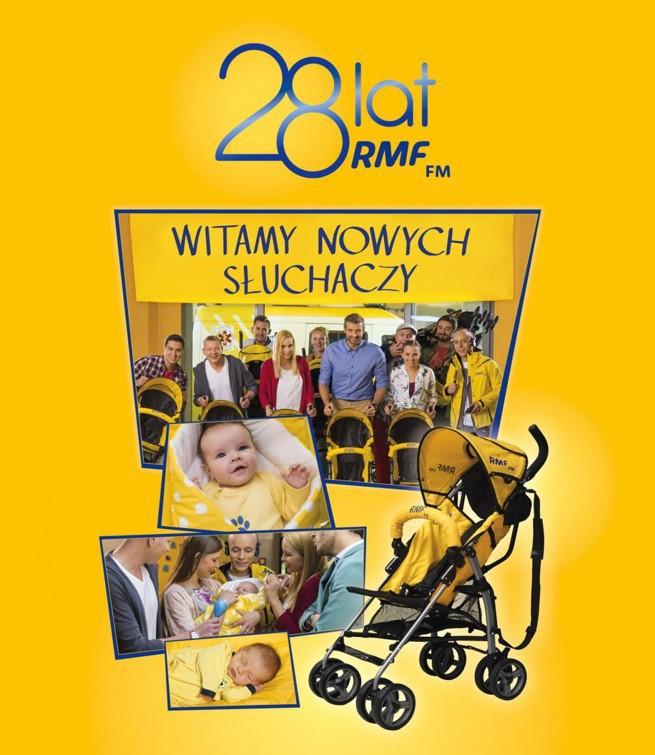 Wózki spacerowe od RMF FM na 28. urodziny stacji
