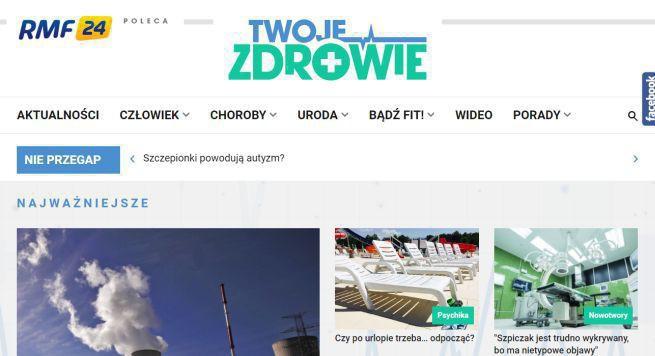 """RMF FM uruchamia dwa serwisy tematyczne: Bajeczna Polska  i Twoje zdrowie. """"Informacje dla pacjentów i ich rodzin"""""""