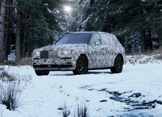 Cullinan - tak będzie nazywał się pierwszy SUV Rolls-Royce'a