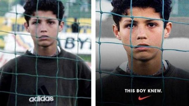 """Nike wyretuszowało logo Adidasa na zdjęciu Cristiano Ronaldo. """"Drobna kompromitacja"""""""