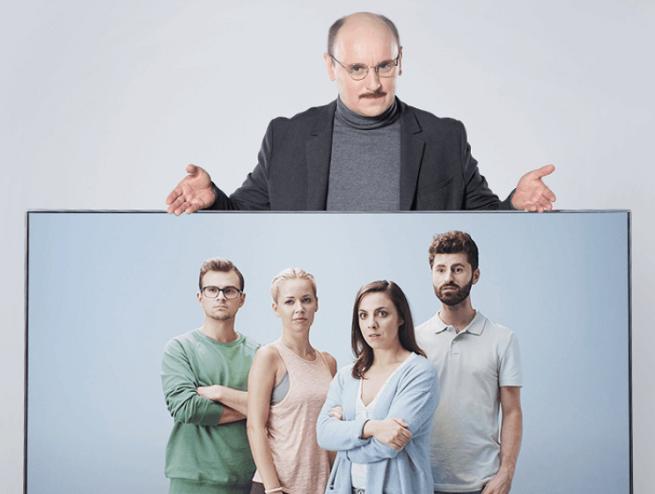 """""""Doznaj olśnienia"""" - Adam Woronowicz w reklamach Samsung QLED TV (wideo)"""