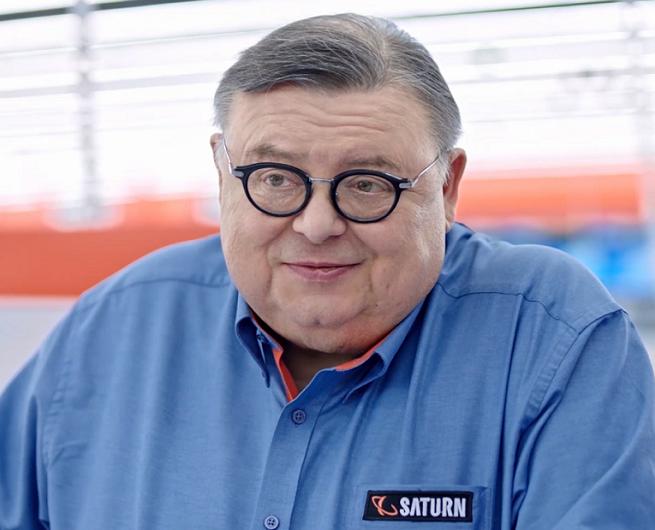 Wojciech Mann w reklamie sklepów Saturn