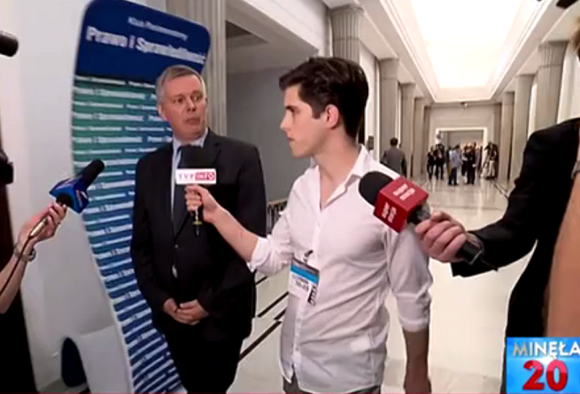 Tomasz Siemoniak i Filip Styczyński, fot. TVP Info