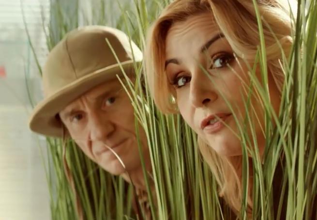 Joanna Brodzik i Paweł Wilczak polują na niskie ceny w reklamach SmartDomu (wideo)