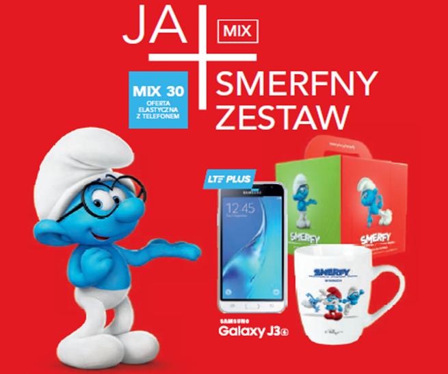 Plus: nowa oferta Ja+ Mix i promocja Ja+ Smerfny Zestaw dla młodych