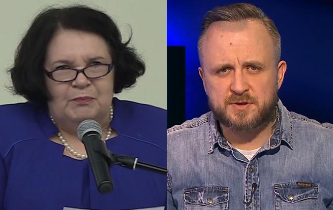 Anna Sobecka i Jakub Wątły