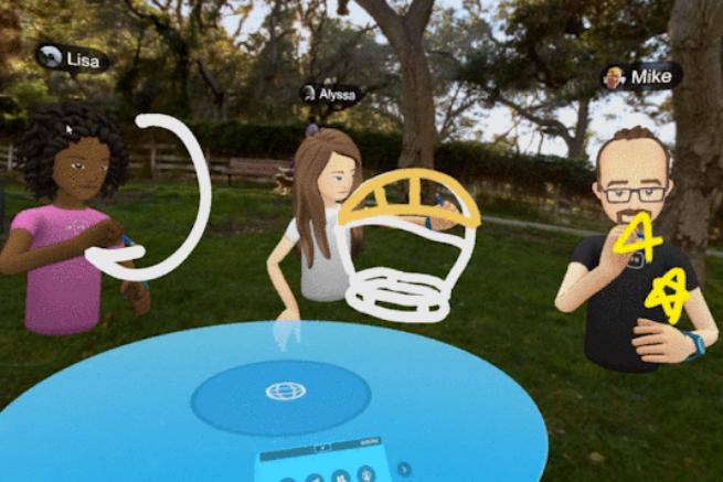 Facebook wprowadza komunikator Spaces w VR dla użytkowników Oculus Rift i opcje Camera Effects Studio (wideo)