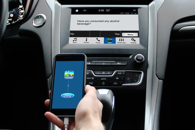 CES 2018: Alcohol Calculator - nowa funkcja Sygic w samochodach Forda