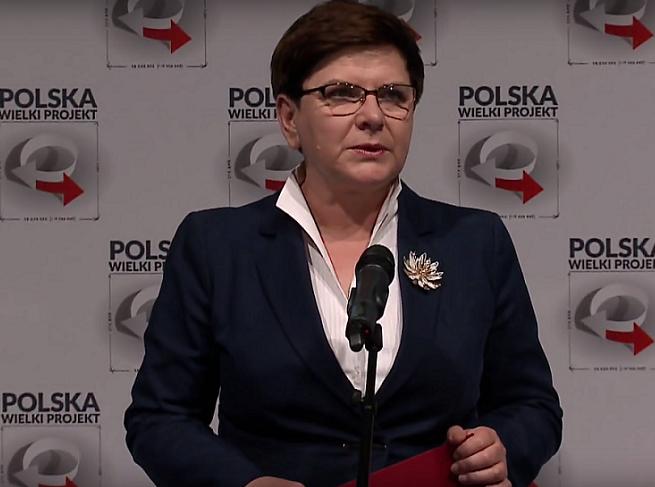 TV Trwam usunęła relację, w której pokazano Beatę Szydło z konferencji Polska Wielki Projekt, jakby był to kongres samorządowców (wideo)