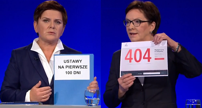 8 mln widzów oglądało debatę Kopacz-Szydło