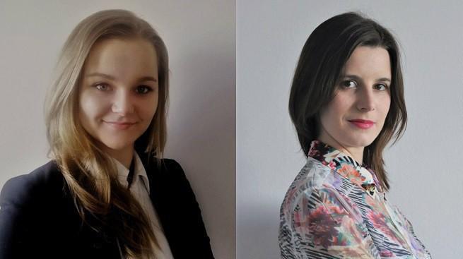 Od lewej: Klaudia Szyszka, Marta Sokołowska