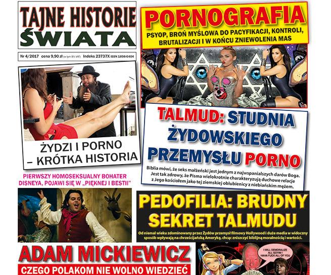 """Po interwencji dziennikarza """"Gazety Wyborczej"""" Lotos wycofuje ze sprzedaży antysemickie czasopisma Leszka Bubla"""