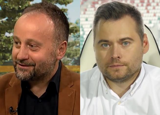 Od lewej: Dariusz Tuzimek i Krzysztof Stanowski