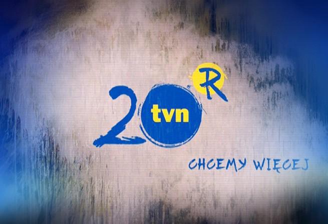 TVN w tym roku obchodzi 20 lat istnienia