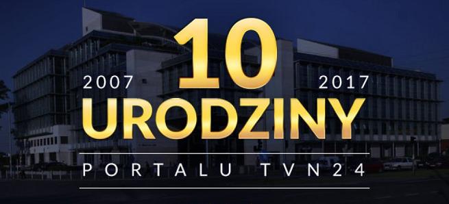 """10. urodziny portalu tvn24.pl. """"Nowoczesna telewizja nie może istnieć bez części internetowej"""""""