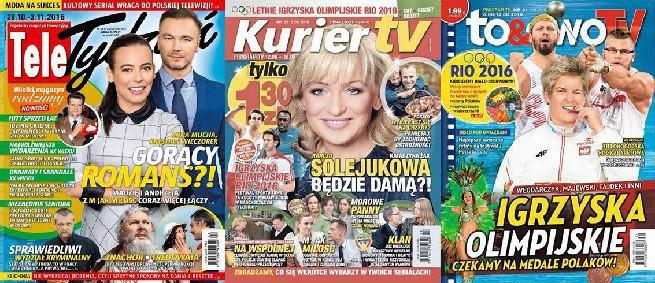 """""""Tele Tydzień"""" na czele tygodników telewizyjnych, """"Tele Świat"""" dwutygodników"""