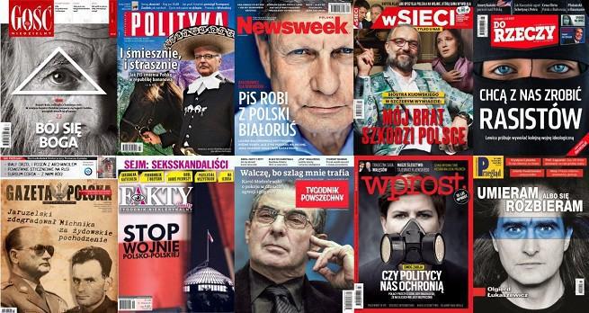"""Tylko """"Tygodnik Powszechny"""" ze wzrostem sprzedaży w 2017 roku, """"Wprost"""" o 21 proc. w dół"""