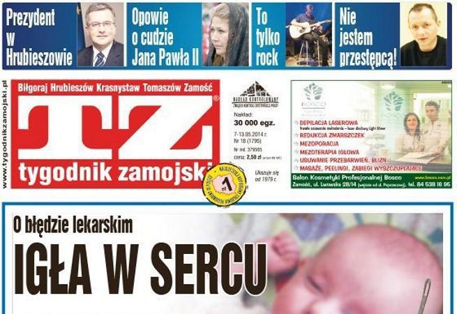 """""""Tygodnik Zamojski"""" liderem w listopadzie, ogromny wzrost sprzedaży """"Tygodnika Człuchowskiego"""""""