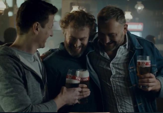 """""""Tyskie otwiera nas"""" zamiast Mecenasa i Mazura w reklamach piwa Tyskie (wideo)"""