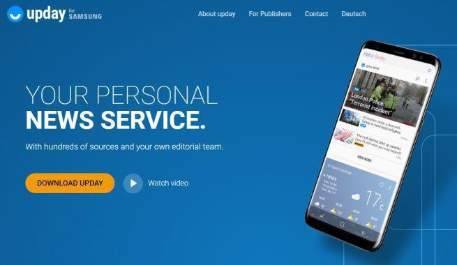 Aplikacja Upday z dużymi wzrostami, 4,5 miliona użytkowników w pół roku
