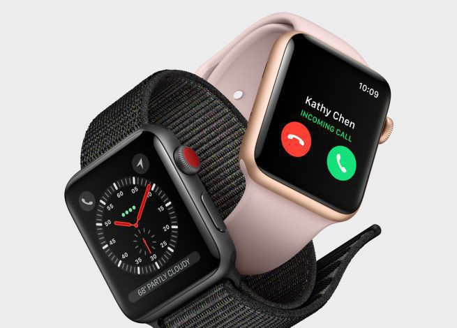 Apple Watch series 3 z mocniejszym procesorem i obsługą rozmów telefonicznych